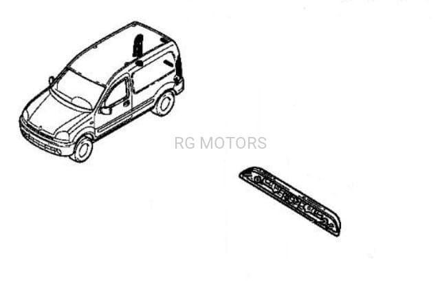Lampka Tablicy Rejestracyjnej Renault Kangoo I Oryginał