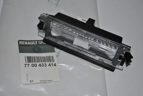 Lampka Tablicy Rejestracyjnej Renault Clio Ii Thalia I Oraz Dacia Sandero I